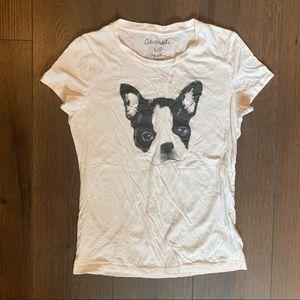 Aeropostale Tops - Aeropostale Women's French Bulldog Graphic T-shirt